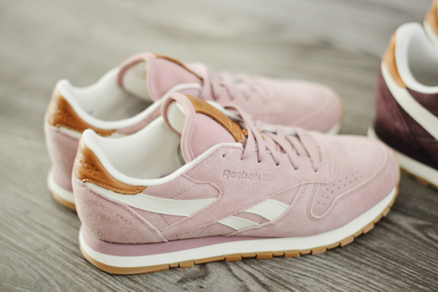 Reebok Classic Leather Suede różowe