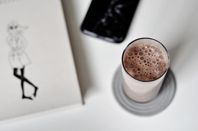 dietetyczny koktajl kakaowy
