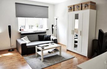 minimalistyczne mieszkanie