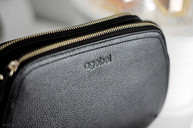 czarna torebka agebel