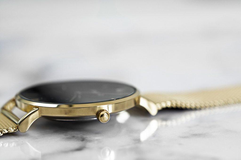 zloty zegarek miugo