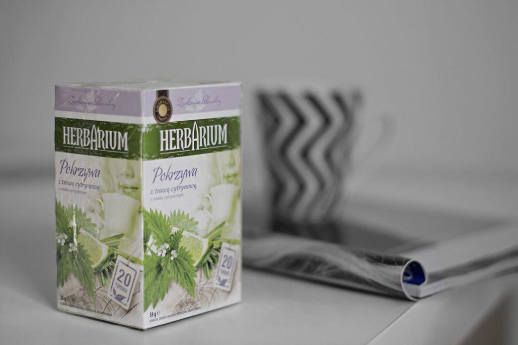 herbata pokrzywowa trawa cytrynowa