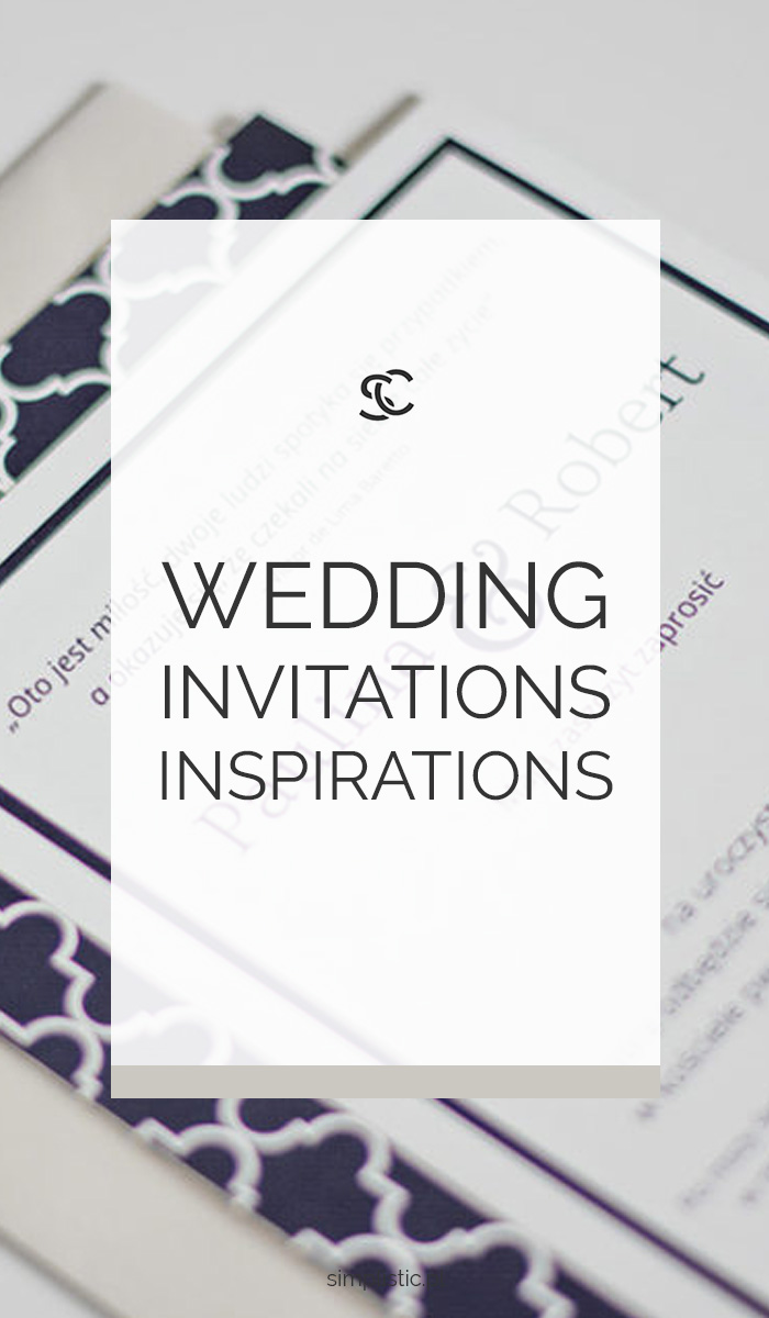 Check out our wedding invitations inspirations and see how our wedding invitations looked.