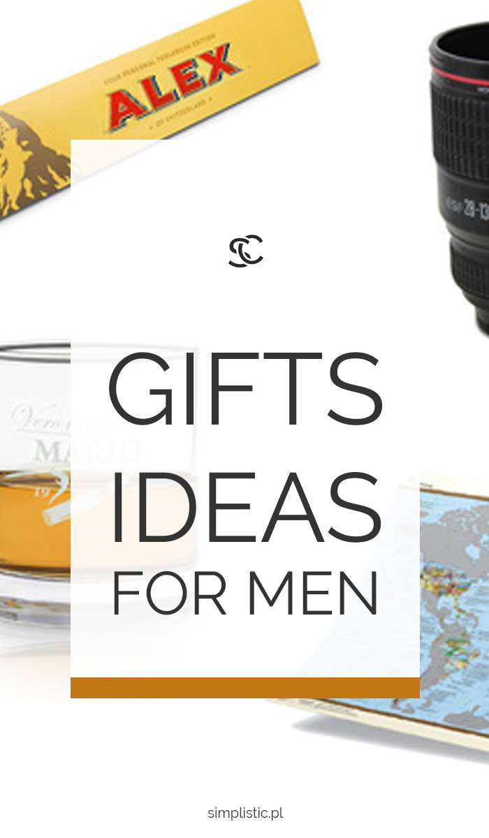 Check out the best and most original gifts ideas for men.