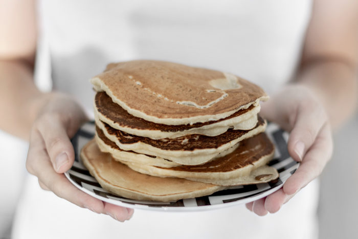 wegańskie pancakes