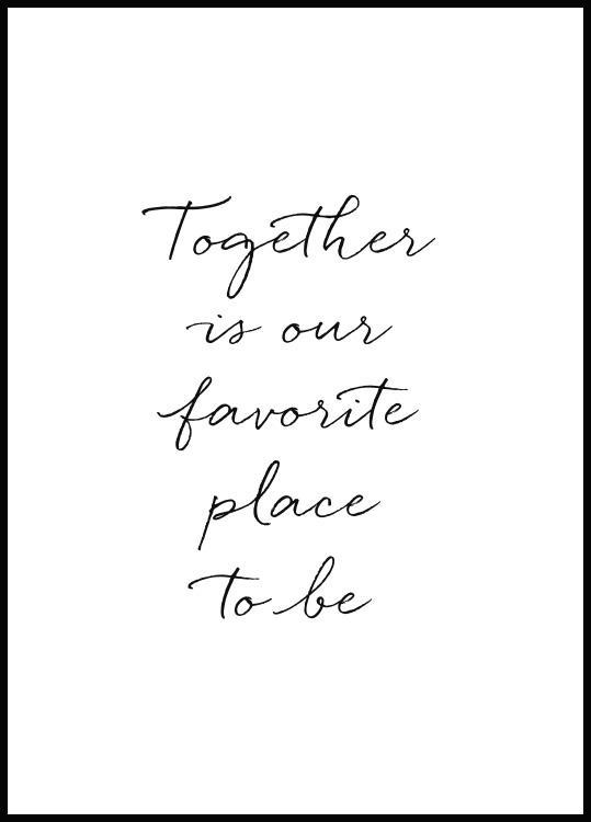 Plakat Together