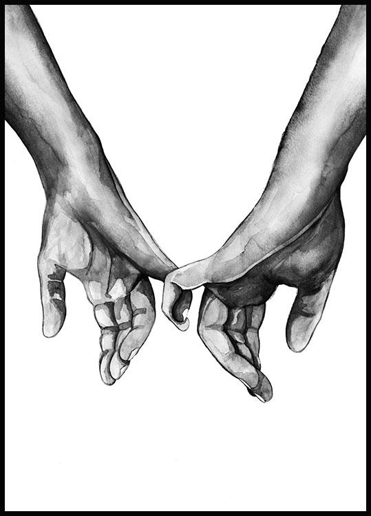 Watercolour Hands