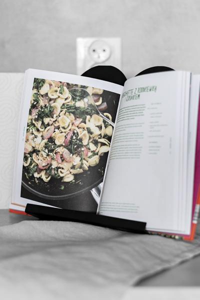 podstawka pod książkę kucharską