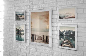 galeria na ścianie